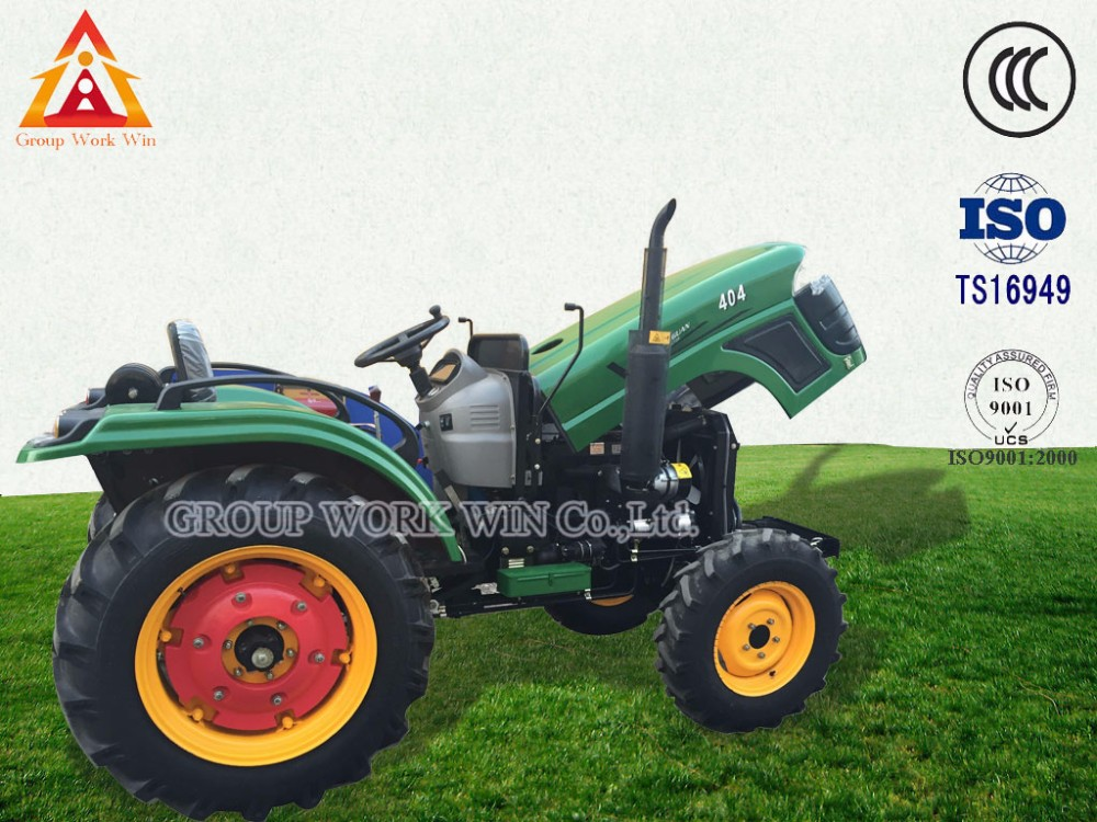 China Agricultural Machinery Cheap 4wd 120hp Farm Tractor For Sale ...