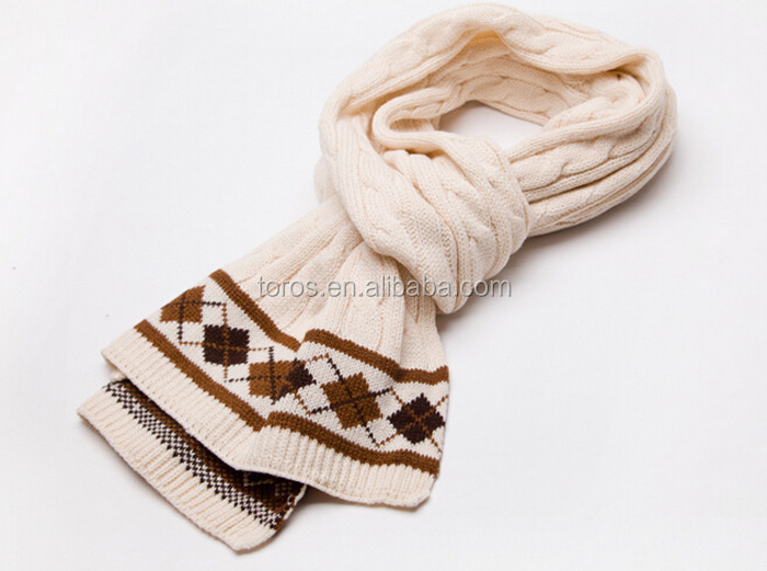 TOROS knit scarf winter muffler ladies scarf