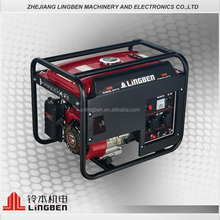 Lingben China 4 stroke 168f portable best home power gasoline generator