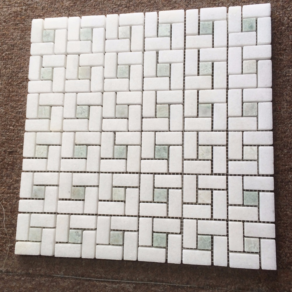 2017 New Design Mini Versailles Marble Mosaic Tile For Floor