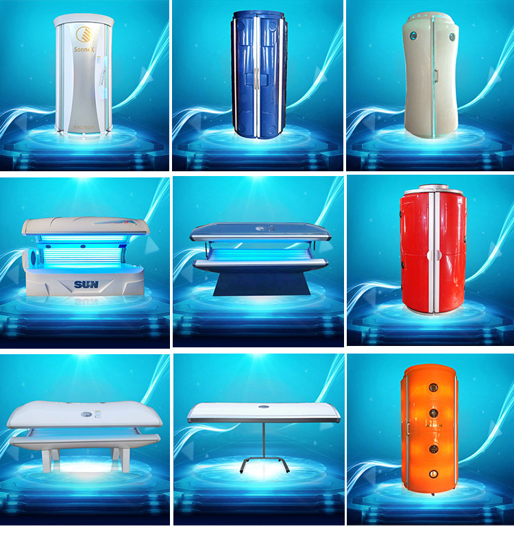 Sonnenschein UV Tanning Schönheit Ausrüstung W4 PDT 400nm Wellenlänge Haut Sonnenbank Vitamin D Aktivator Blau Licht Therapie Maschine