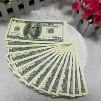 Fake Money Tissue Paper Napkins Wth Superior Quality Use For Special  Occasion - Buy Fake Money Tissue Paper,Fake Money Tissue With Superior