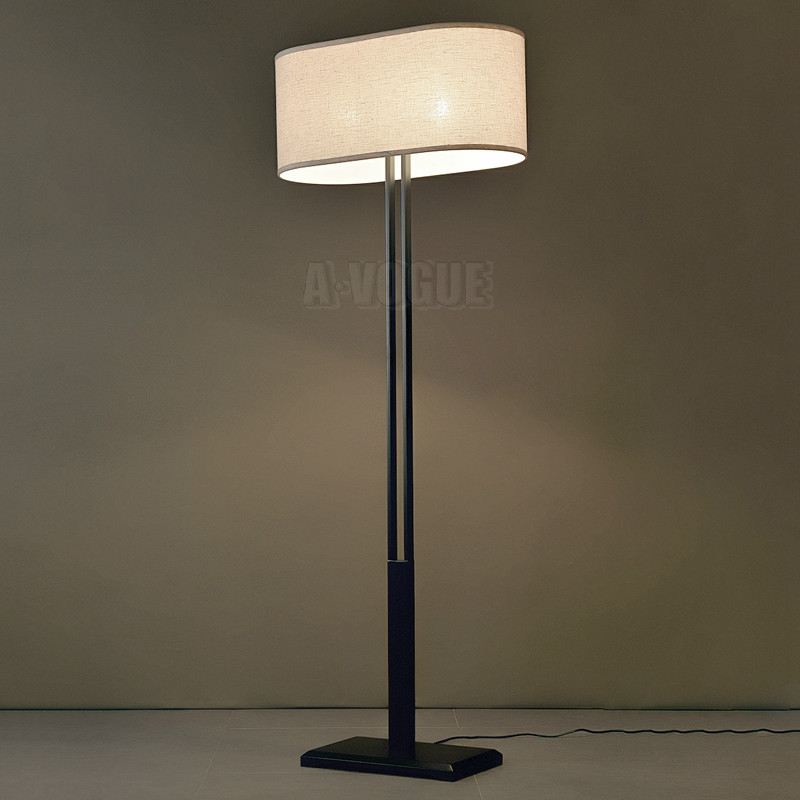 modern chinese japanese fashion simple type covers bedroom floor lamp in floor lamps from lights. Black Bedroom Furniture Sets. Home Design Ideas