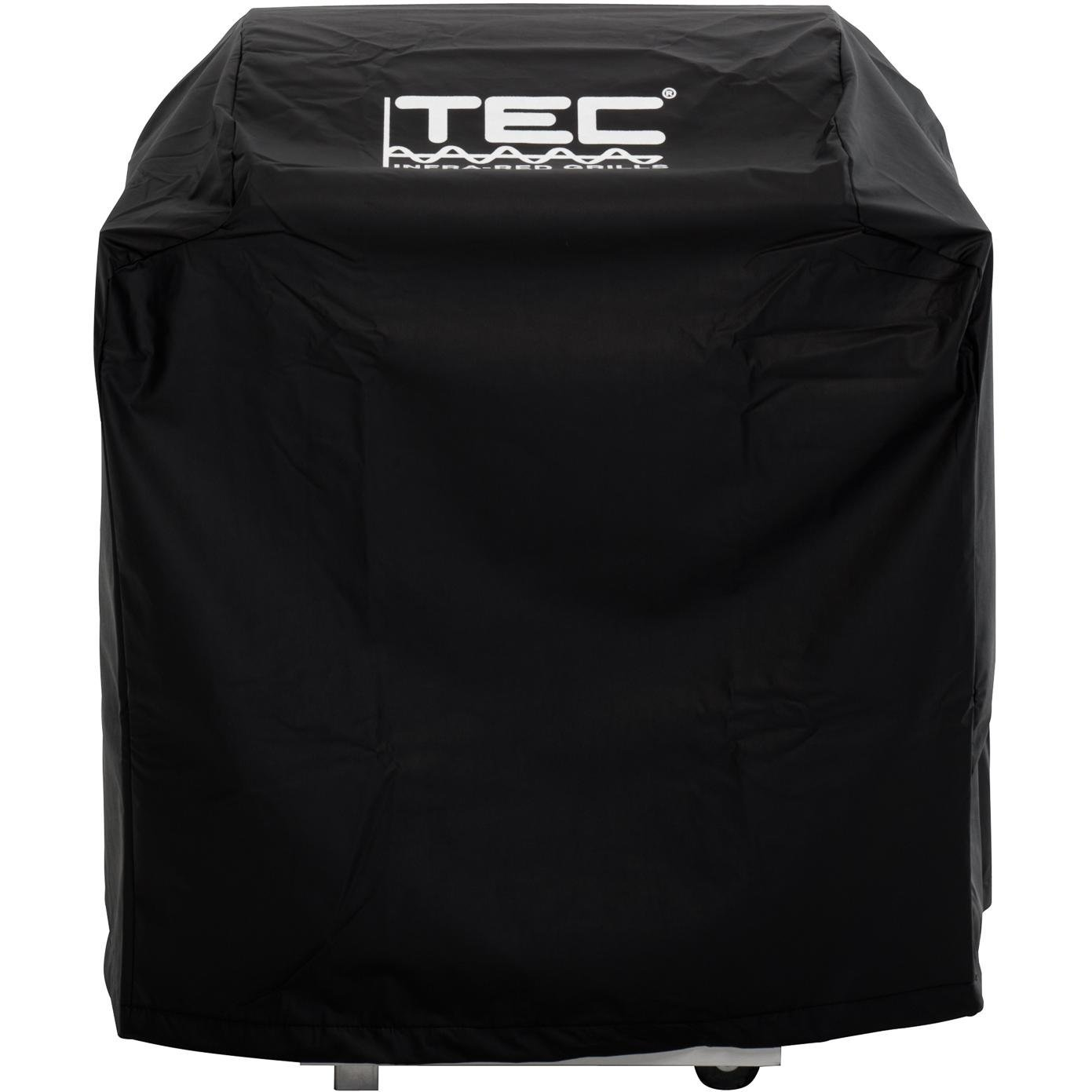 Tec Vinyl Grill Cover For Sterling Iii - On Cart With Two Side Shelves