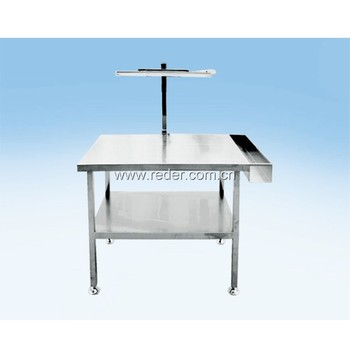 Stainless Steel Inspection Table Counter Height Work