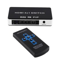 Hot selling 4 k HDMI switch 4x1 <span class=keywords><strong>pip</strong></span> met afstandsbediening