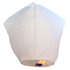 Meilun Art Crafts Hot Air Balloon White Oval, Heart, Cylinder, Diamond Flying Sky Lanterns for party or festival celebration