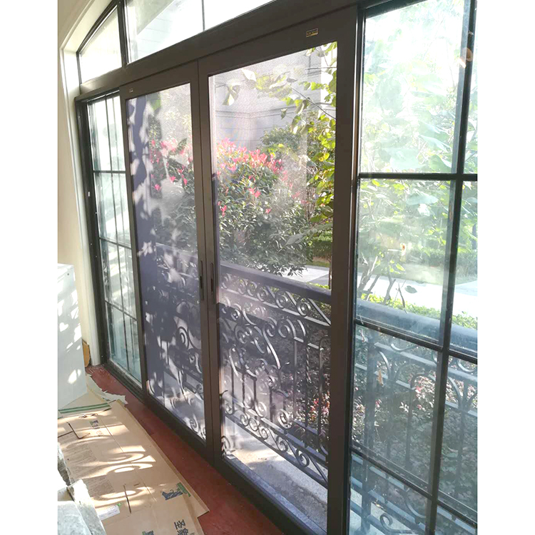 Wholesale anti-mosquito security fly screen window and door