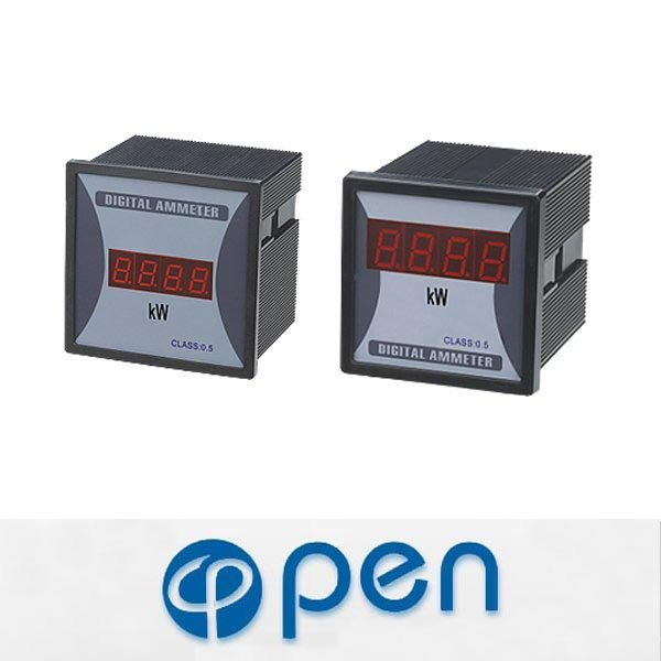 Square Type Digital Power Meter,Analogue Panel Meter
