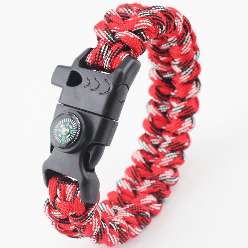 wholesale latest OEM paracord survival bracelet