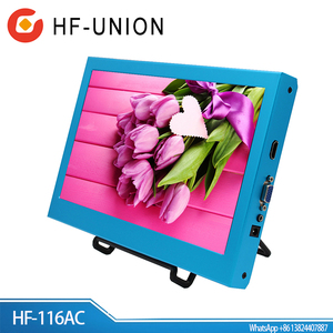 Best selling Mini 5v usb powered vga monitor 11.6 inch fhd 1920*1080P VGA HD MI DVI muti interface 12v monitor