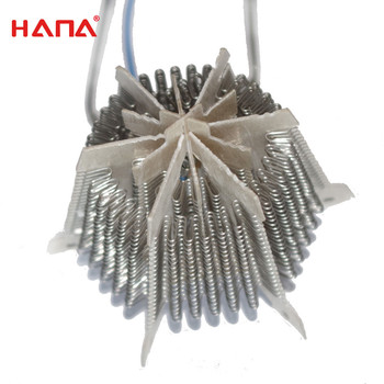 HANA Mica electric fan heater parts heating frame for household