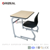 Professional educational furniture children ergonomic study desk and chair for school usage