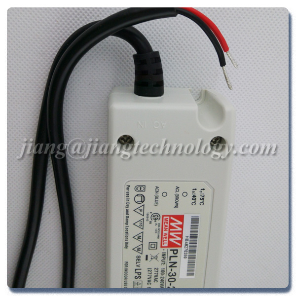 30W 36V 0.84A Meanwell LED Floodlight Driver PLN-30-36 Power Supply