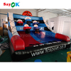 2019 new sports entertainment game PVC indoor inflatable basketball shooting machine