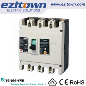 TENGEN 630 amp mccb prices of mccb earth leakage circuit breaker