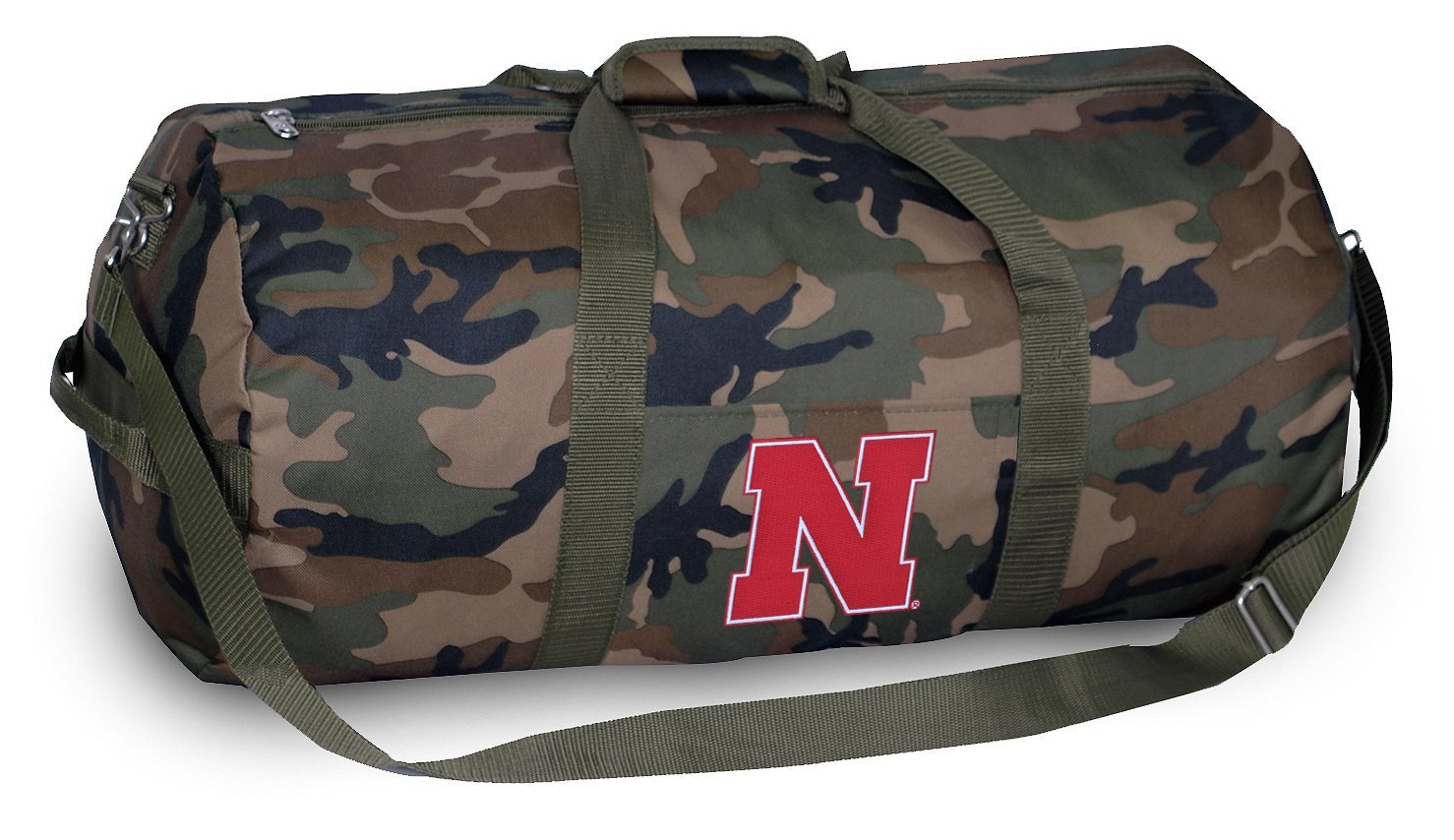Nebraska Huskers CAMO Duffle Bag University of Nebraska Duffel Suitcase Luggage