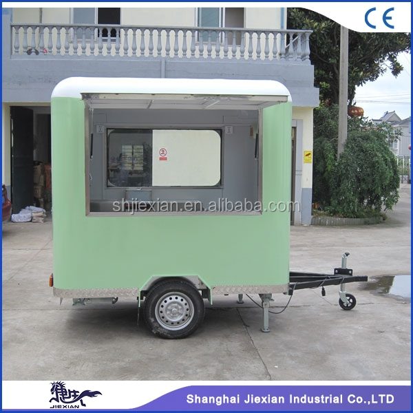 2017 JX-FS220R Worldwide top 8 food truck australia standard mobile food trailer