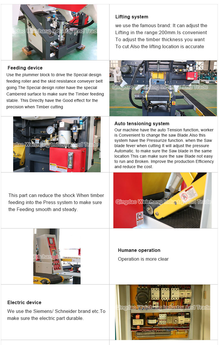 vertical precision wood bandsaw machine for Solid Wood