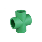 Factory Direct Sale High Quality Hot and Cold Water Adaptor Connection PPR Equal Cross Fittings