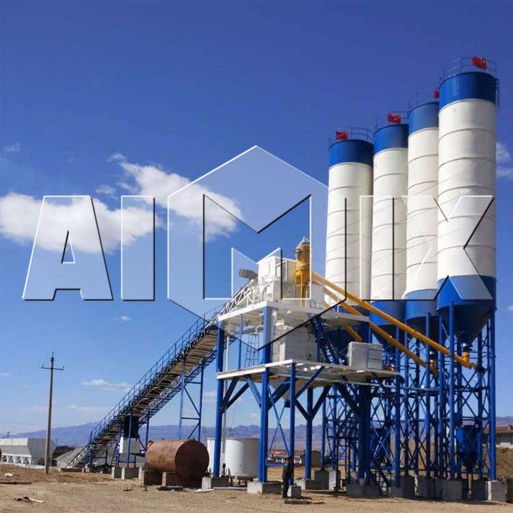 HZS60 beton mixing equipment precast concrete mixing plant sales