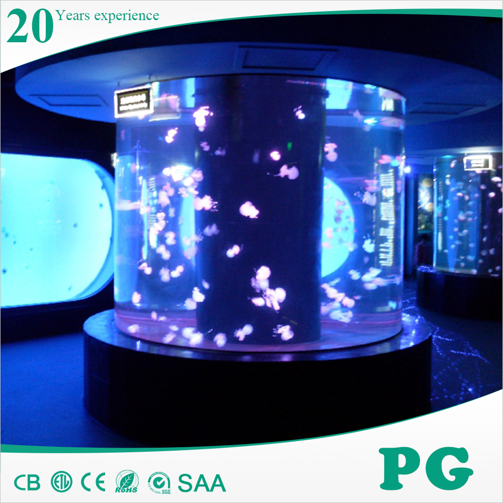 PG Acrylic Cylinder Water Fish Tank