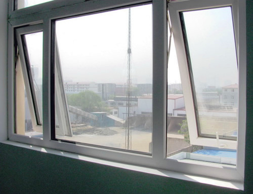 Casement Windows Use For Toilet Windows Decorative Exterior Shutters Industrial Aluminum Profile