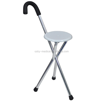 Genial Walking Cane With Chair Function Walking Aids Seat Sticks/Walking Cane Seat/Stick  Chair
