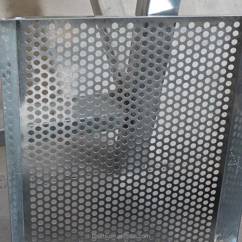 kommerziellen au en verzinktem metall gitter industrielle perforierte treppenstufen. Black Bedroom Furniture Sets. Home Design Ideas