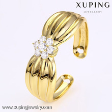 51028 Hot sell latest design jewelry girls fashion broad flower sexy girls bangle