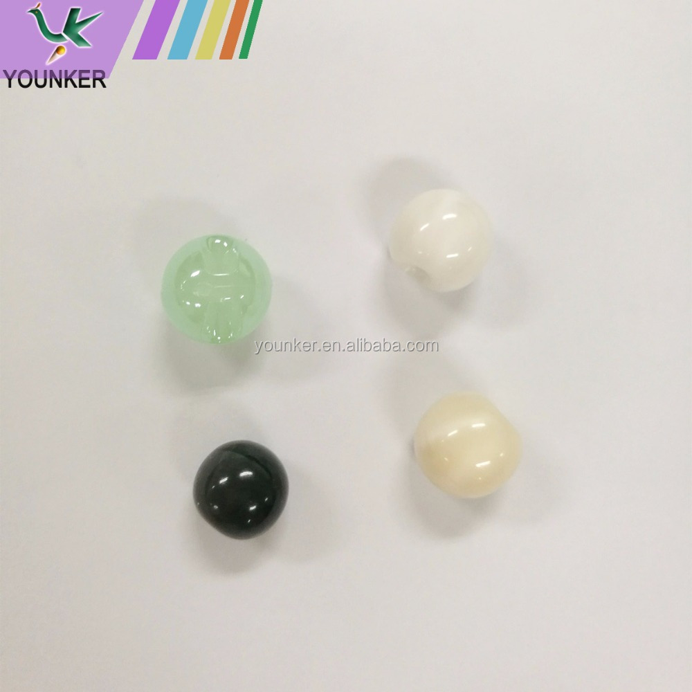 Hot Sell Products Tunnel shank Acrylic Bead Cloth Button