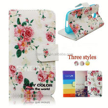 Elegant wallet case folio leather protective back cover for LG L50 d225