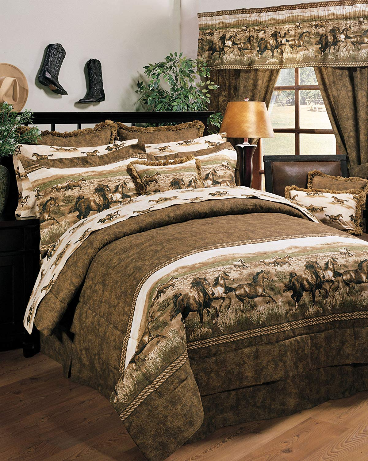 Wild Horses Bed in a Bag Set, King