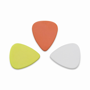 blank instrument music accessory delrin material electric guitar picks can custom logo on them