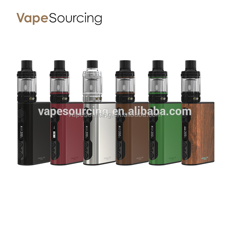 Top three selling products Eleaf iStick QC 200W with MELO 300 ,build-in 5000mah Battery e cigarette china supplier