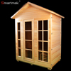 High quality 4 person women weight loss outdoor sauna house with roof