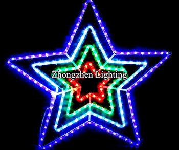 Silhouette five point star christmas rope light buy silhouette silhouette five point star christmas rope light aloadofball Choice Image