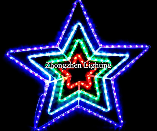 Buy cheap china star rope light products find china star rope light silhouette five point star christmas rope light aloadofball Gallery
