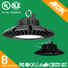 Aluminum IP65 waterproof UFO 200W LED high bay light 150 led linear high bay light