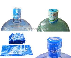 Plastic 5 Gallon Bottle Cap Seal Shrink Label PVC Heat Shrink Sleeve For Bottle Caps
