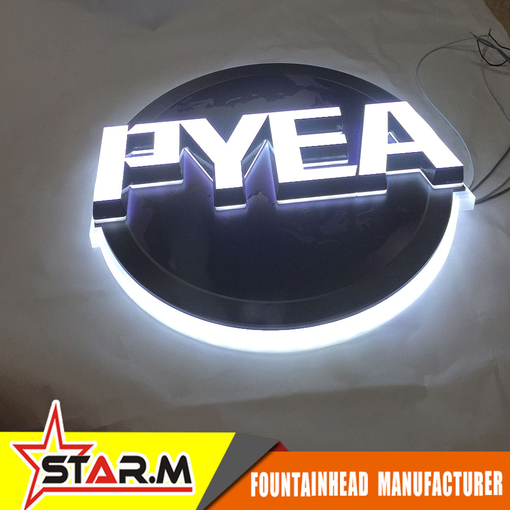 Custom Acrylic led sign letters Indoor