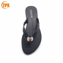 cheap wholesale beach walk woman & lady slipper pvc flip flop slipper