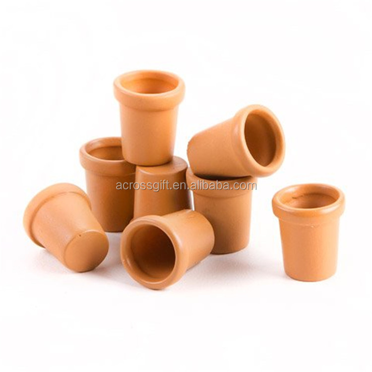 personalized garden decorative plant flower clay mini terracotta pots