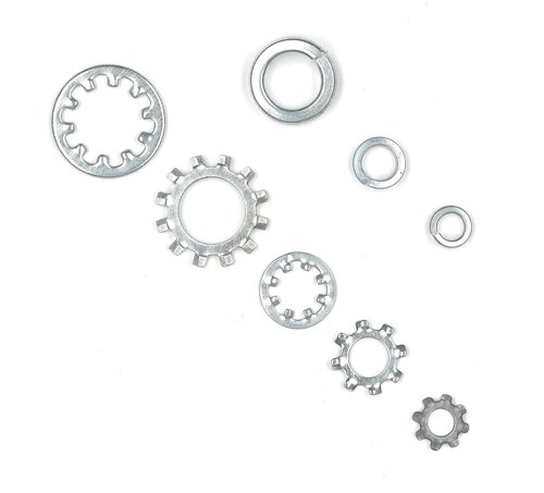 Tradespro 835795 Lock Spring and Star Washer Assortment, 720-Piece