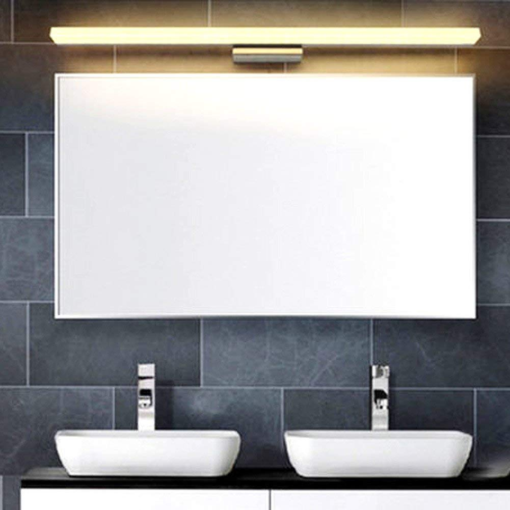 Modern Bathroom Wall Light Mirror Front LED Lighting Waterproof Antifogging LED (12W 23.6 inch, Warm White)