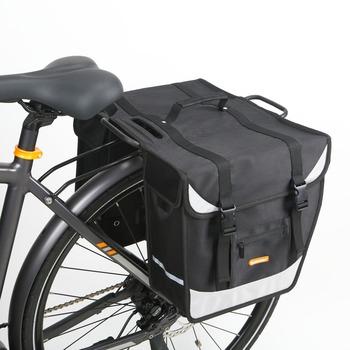 Waterproof Mountain Bike Bag Rack Pannier Bicycle Bags