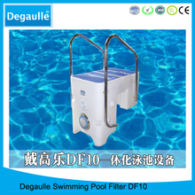 High efficiency swimming pool system pipeless pool filter fiberglass