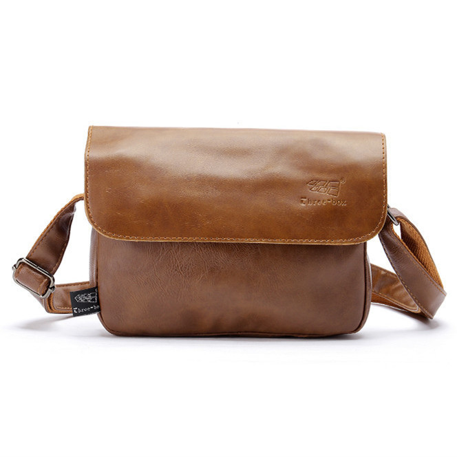 Hot 2015 New Fashion brand small black leather men messenger bags casual brown crossbody bags for women bolsa masculina JN6323