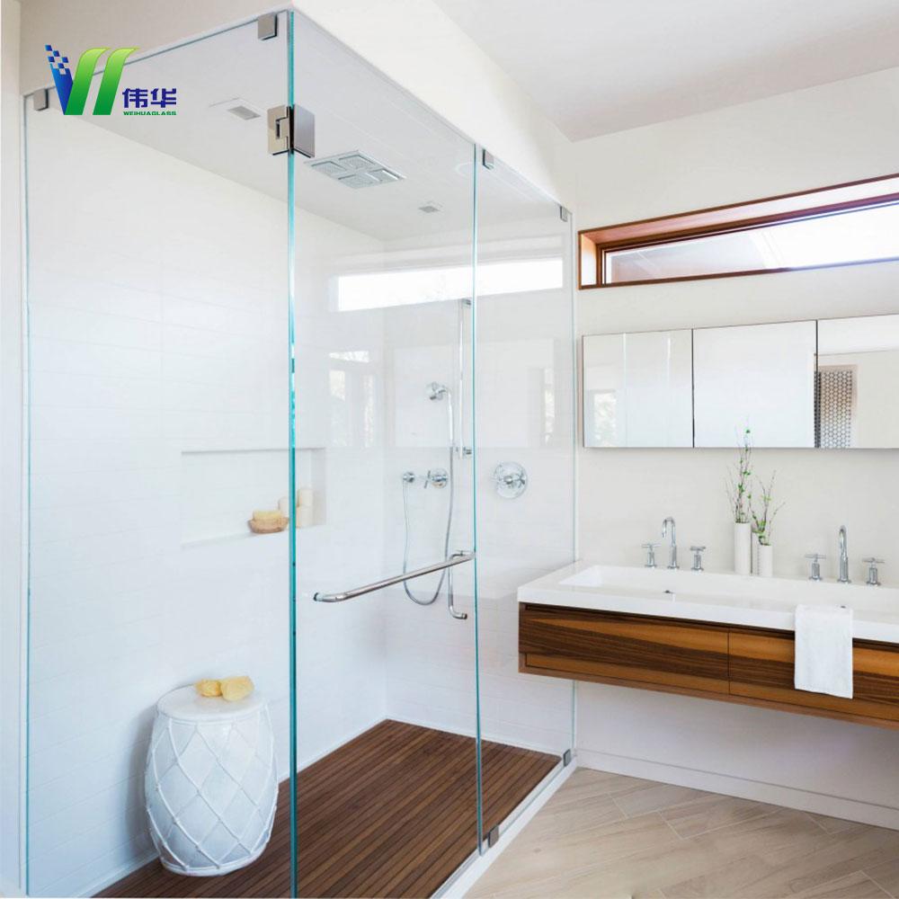 8mm 10mm salle de bains porte en verre cloison de verre pour salle de bains - Cloison Verre Salle De Bain