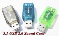 best price 3D Sound Virtual 5.1-Surround USB 2.0 External Sound Card